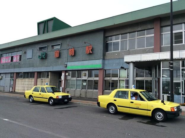 留萌駅 駅舎