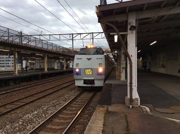 札幌行き 特急オホーツク
