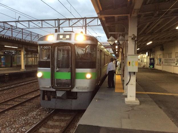 札幌方面行き普通列車 深川入線