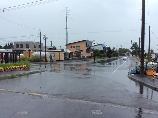 新十津川駅8 駅前