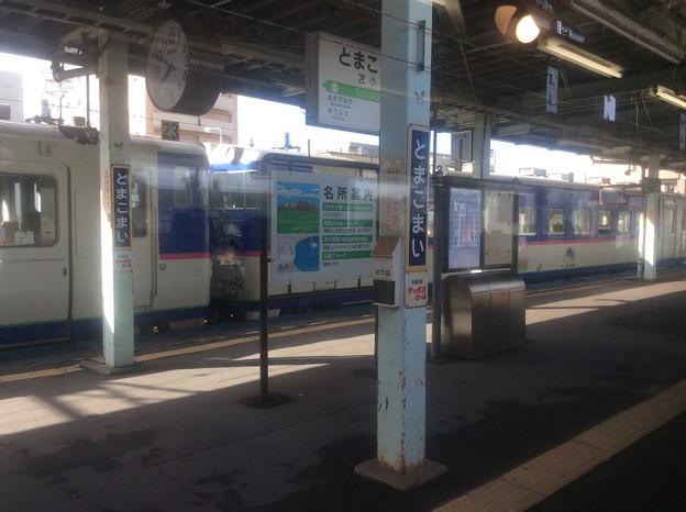 苫小牧駅発車前