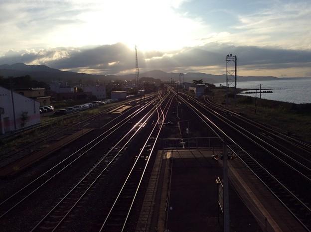 森駅6 ~跨線橋から~