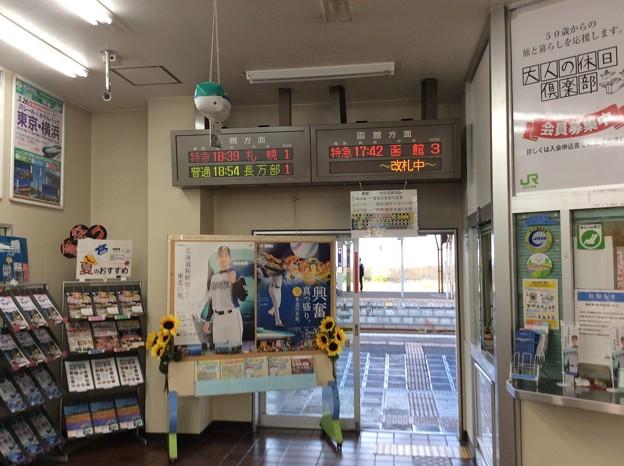 森駅9 ~改札口~
