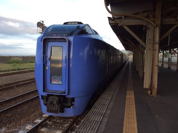 森駅15 ~特急函館行きが到着~