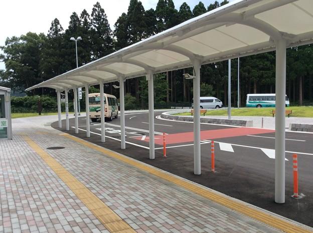 津軽中里駅行きバス 発車