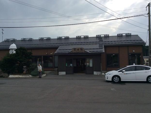 蟹田駅 駅舎