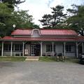 cafe 驛舎 外観
