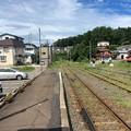 Photos: 津軽中里駅の、その先は。
