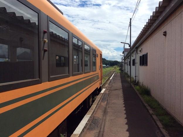 津軽中里駅の南