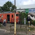 Photos: 津軽二股駅に列車停車中