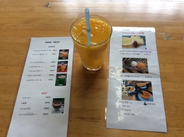 Photos: マンゴー生ジュース