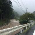 Photos: 豪雨と濁流