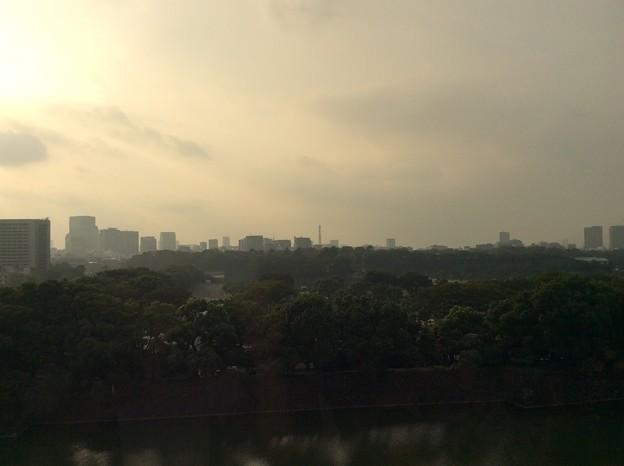 出光美術館からの眺め