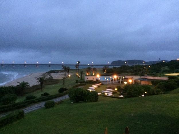西長門リゾートから見える角島大橋1