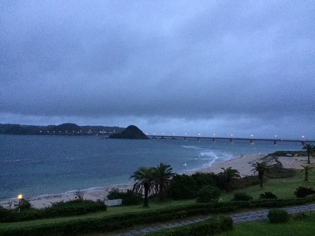 西長門リゾートから見える角島大橋2