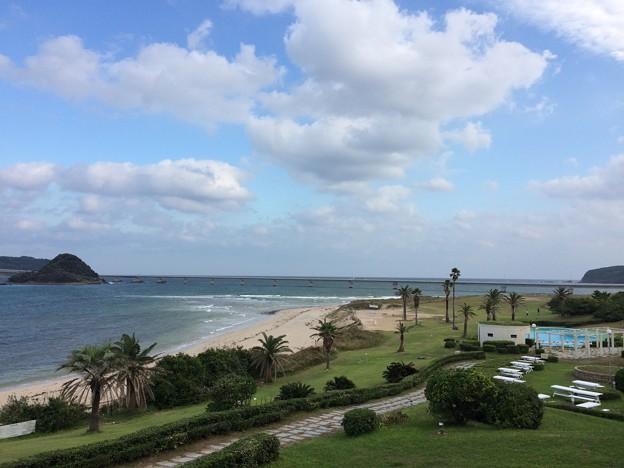 西長門リゾート 朝の風景2