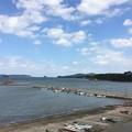 Photos: 角島大橋が見える