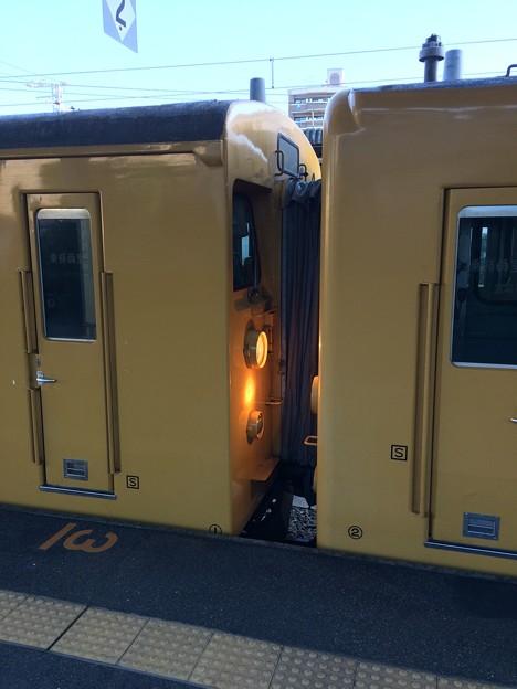 Photos: 列車 連結部分