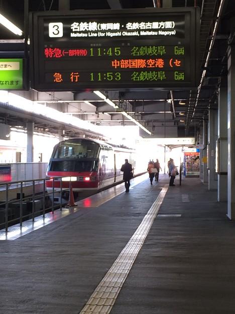 豊橋駅 名鉄ホーム