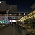 Photos: 夜の豊橋駅前