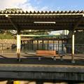 高松築港駅と玉藻公園の堀