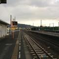 志度駅から徳島方面を望む