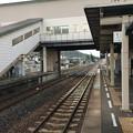 Photos: 志度駅から高松方面を望む