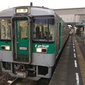 志度駅に普通電車が到着