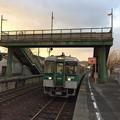 Photos: 造田駅 まもなく発車
