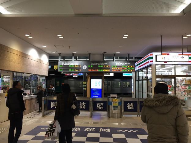 徳島駅 改札