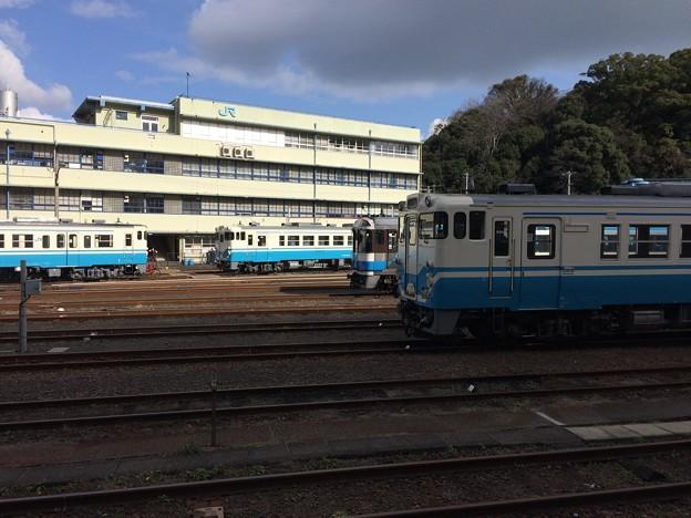 徳島駅 留置線
