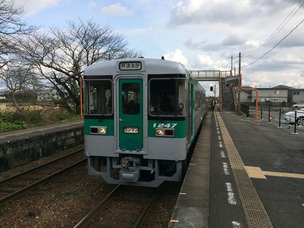 牛島駅にて