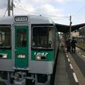 Photos: 佃駅に停車
