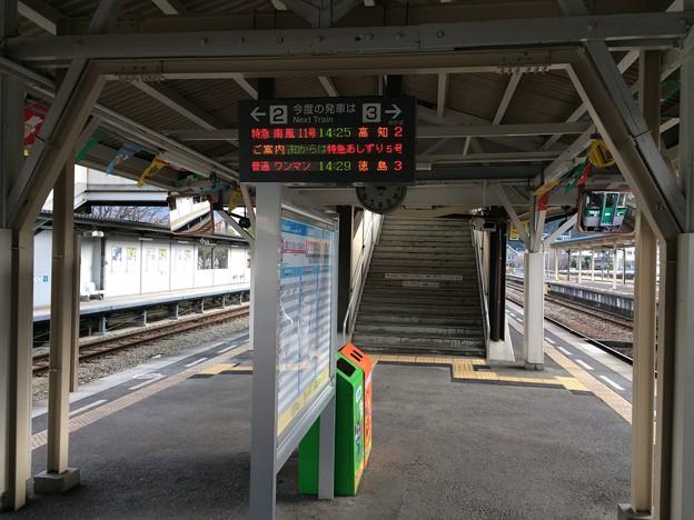 行先表示 ~阿波池田駅~