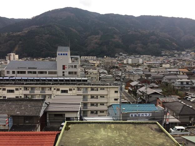 池田高校前から見える街並