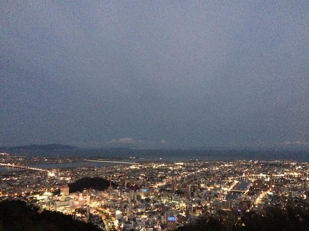 徳島眉山の夜景1