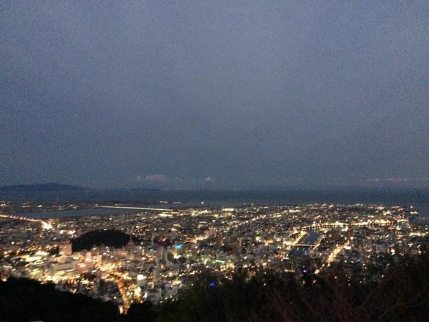 徳島 眉山の夜景2