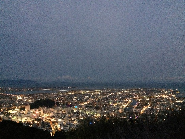 徳島 眉山の夜景3