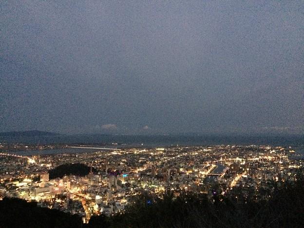 徳島 眉山の夜景4