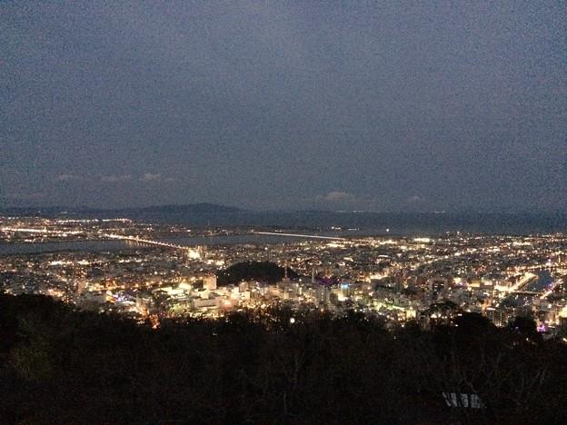 徳島 眉山の夜景5