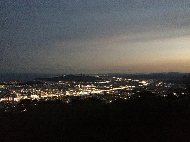 徳島 眉山の夜景7