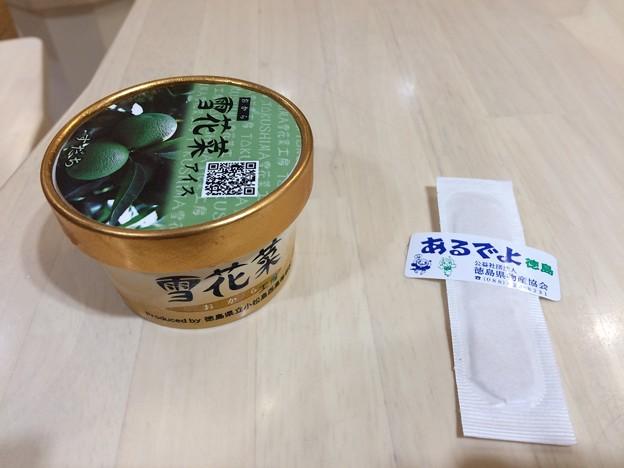 雪花菜アイス