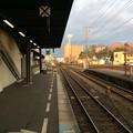 徳島駅から鳴門・高松方面を望む