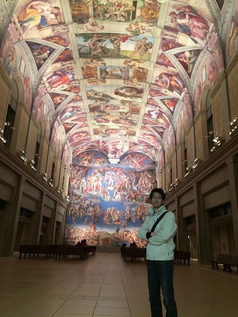 システィーナ礼拝堂にて @鳴門大塚国際美術館
