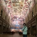 Photos: システィーナ礼拝堂にて @鳴門大塚国際美術館