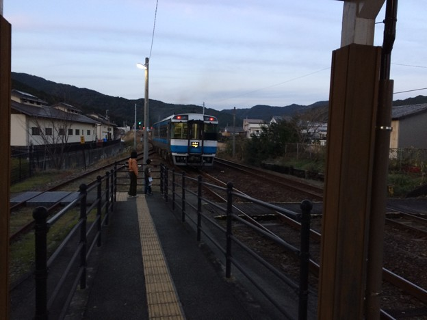 Photos: 特急むろと徳島行き出発