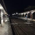 Photos: 日和佐駅 夜