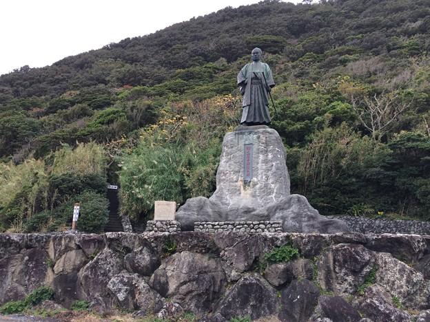 室戸岬3 ~中岡慎太郎像~