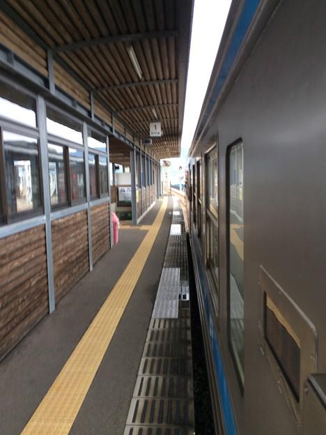 安芸駅に到着