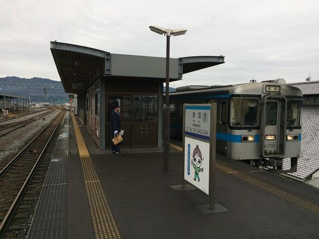 安芸駅と奈半利方面